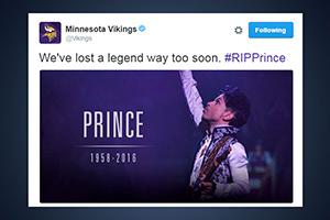 La mort de Prince a généré 8 millions de tweets