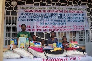 Canada: Vivi Flame of Hope pour une alphabétisation du Cameroun et de l'Afrique