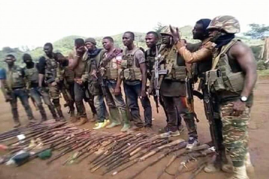 """Cameroun-crise anglophone: La mort d'un commandant  """"ambazoniens"""" entraine la fuite de son """"armée""""."""