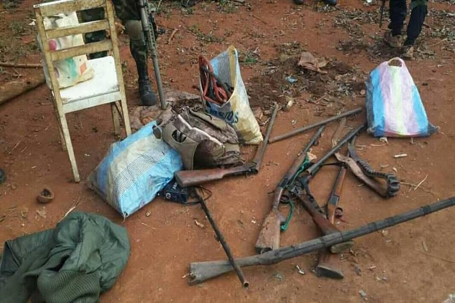 Cameroun-crise anglophone: 2 présumés separatists férocement tués à  Bangourain. (photo)