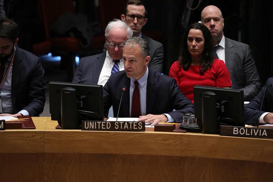 Jonathan R. Cohen - Amabassadeur des USA aux Nations Unis: Nous ne voulons pas que cette horrible tendance se poursuive ce mois de décembre au Cameroun