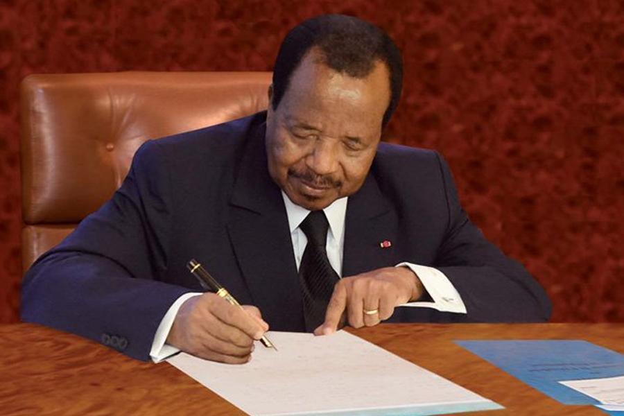 Crise Anglophone dans le NO-SO: Biya décrète l'arrêt des poursuites contre 289 personnes détenues.