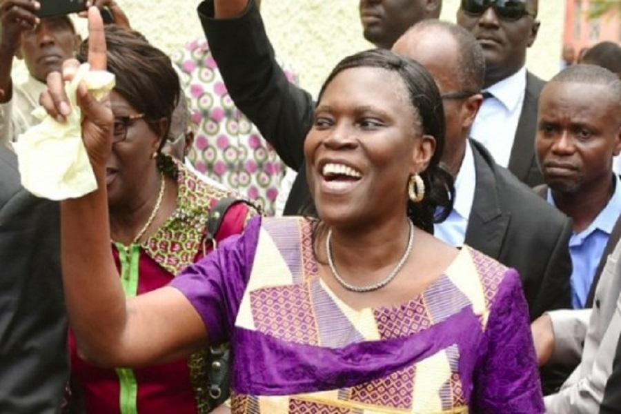 URGENT !!!Acquittement et libération de Laurent Gbagbo: les premiers mots de son épouse Simone
