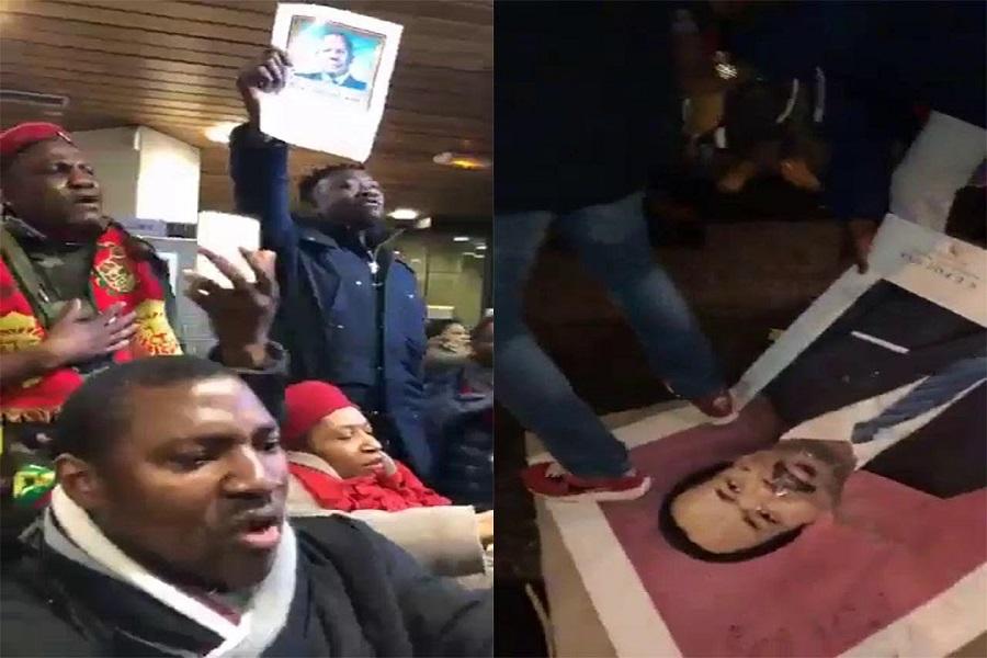 Cameroun: Retour sur les manifestations du 26 janvier dans la diaspora.