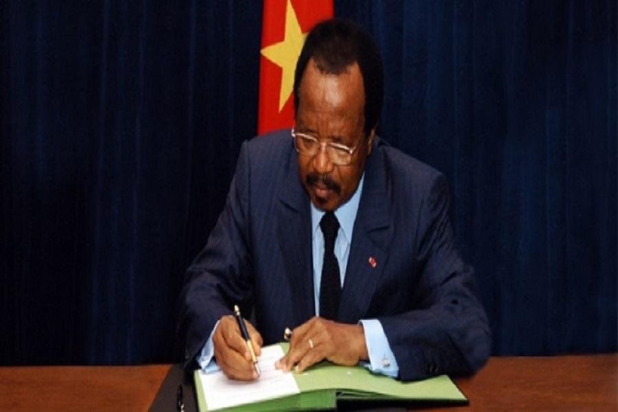 Cameroun : noveau decret portant nomination  à l'ENAM.
