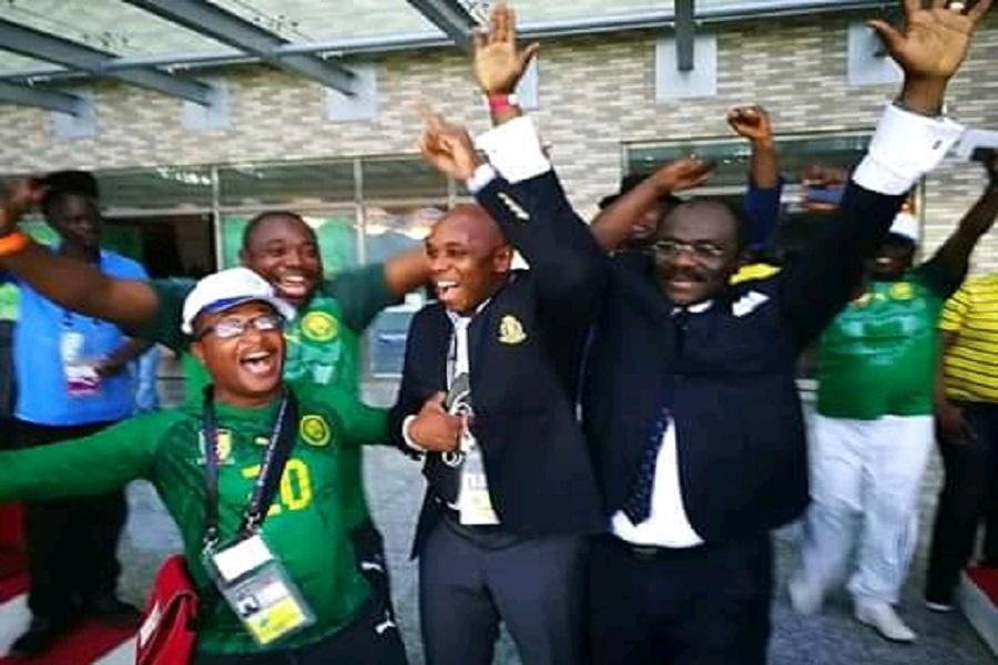 Cameroun : Narcisse Mouelle Kombi felicite les lions U17 pour leur brillante victoire.