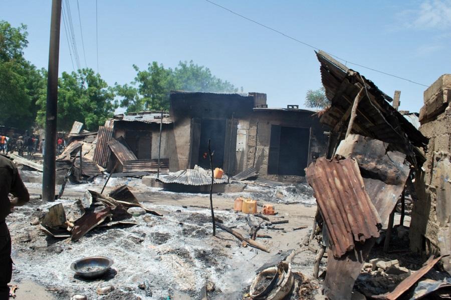 Cameroun-attaque : des dizaines de maisons détruites par Boko Haram dans l'Extrême-nord.