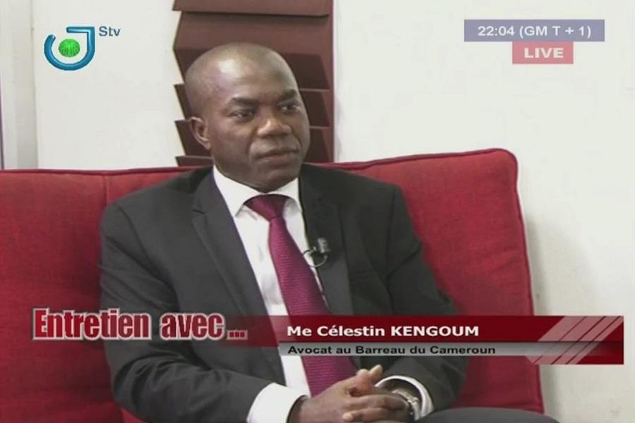 Nécrologie :    L'habitué des plateaux TV, Me Célestin Kengoum est décédé