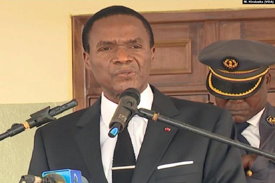 Cameroun : Joseph Beti Assomo rend visite aux soldats touchés dans le Nord-ouest.