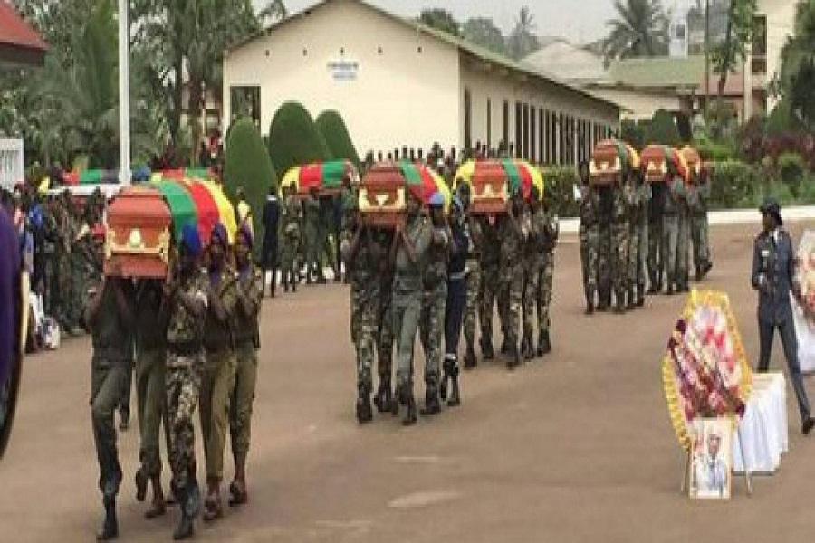 Cameroun : un honneur national a été rendu aux soldats tombés à Darak