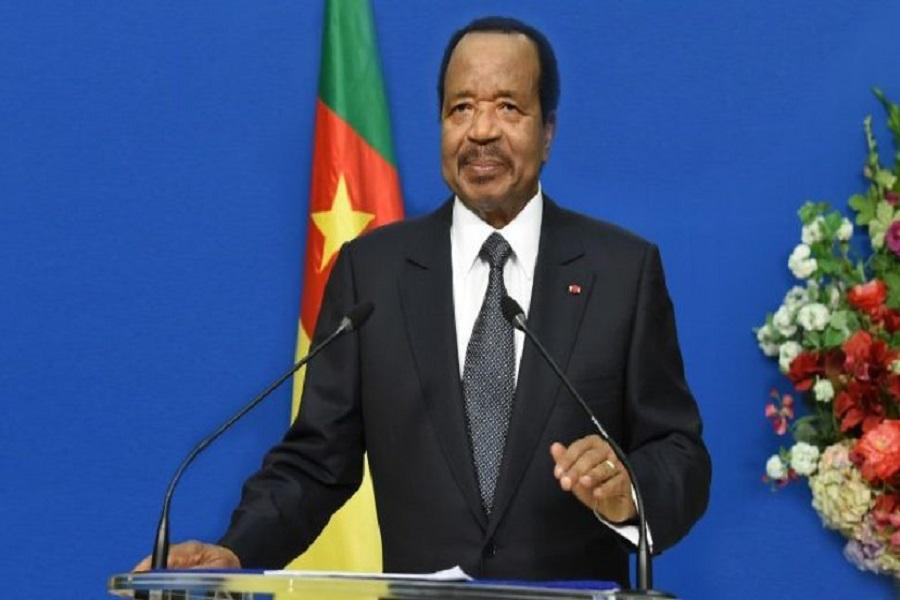 Le Cameroun organisera cette coupe d'Afrique !lors de son discours trionsophonique adressé à la nation le président dans ses engagements