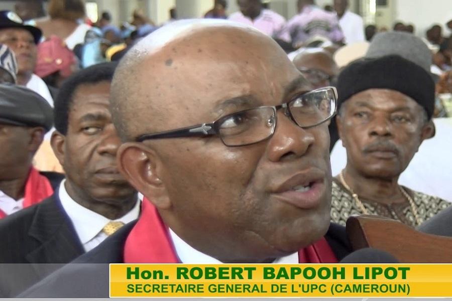 Cameroun : Le député Bapooh Lipot accuse le SDF d'être un parti « espion » qui  bénéficie de « toutes les faveurs » du RDPC