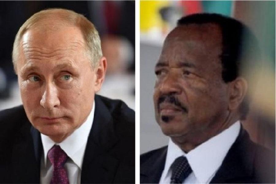 Le président Biya attendu en Russie au mois  d'Octobre pour le sommet Russie-Afrique