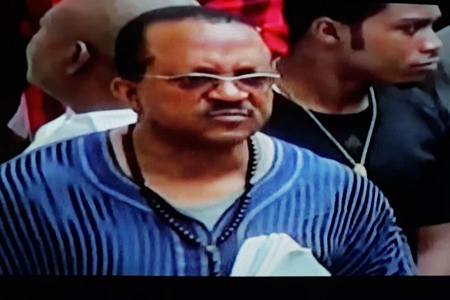 Tribunal : George Gilbert Baongla inconsolable après le rejet de sa demande de mise en liberté provisoire