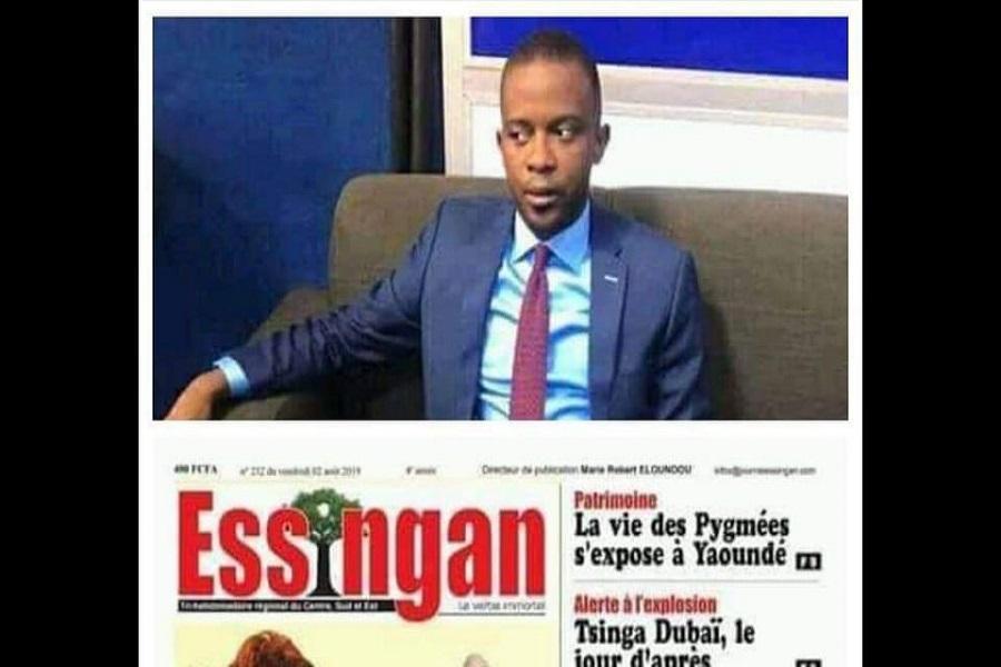 Cameroun : En colère, Ernest Obama réclame des sanctions contre journal Essingan