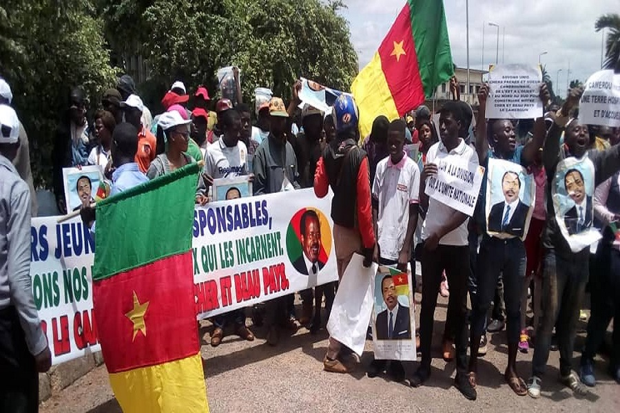 Cameroun : Un groupe dénommé « Les jeunes patriotes » dit être prêt à mourir pour Paul Biya