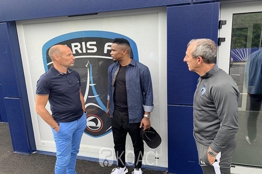 Samuel Eto'o veut une collaboration entre sa fondation et le PSG