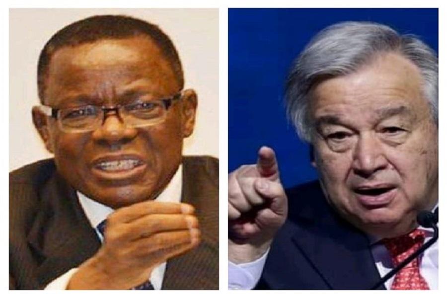 Cameroun : « Oublié » en prison, Maurice Kamto  se lâche sur le SG  de l'ONU, et dit avoir perdu  « confiance en lui »