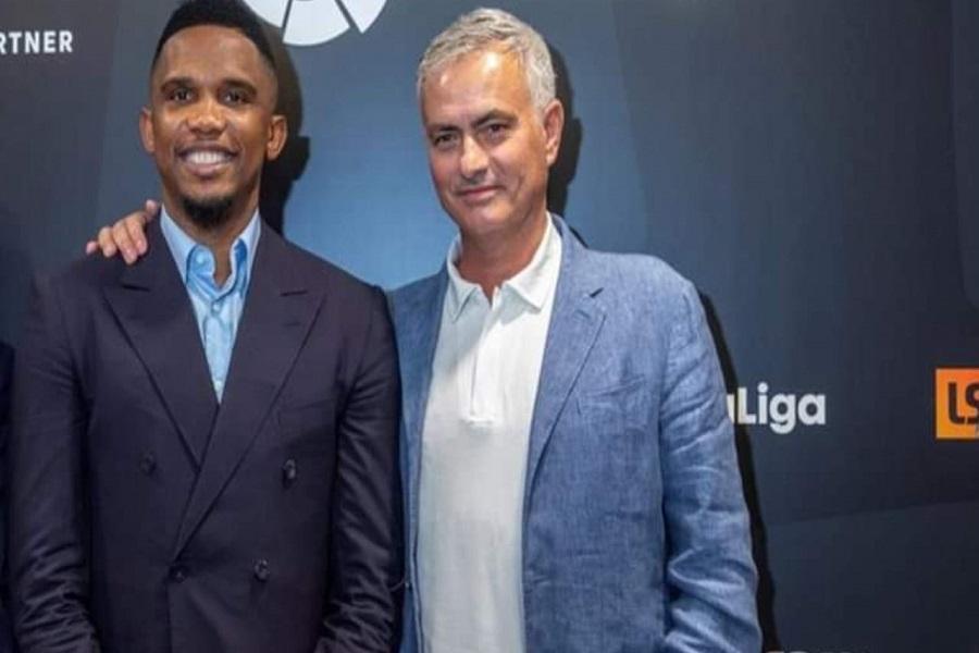 Football : Le message touchant de Samuel Eto'o à  José Mourinho