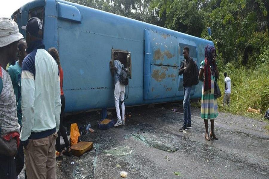 Grave accident de la compagnie de voyage Garantie Express