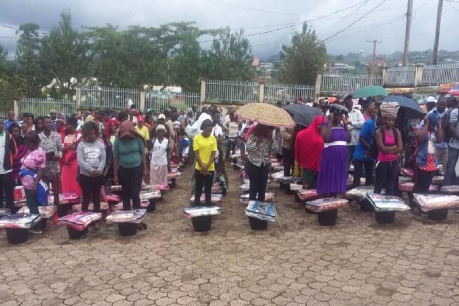 Cameroun : plus de 300 déplacés internes, bénéficient de l'aide humanitaire dans le Nord-ouest