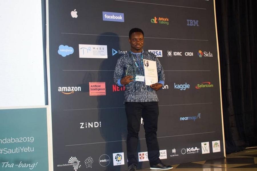 Distinction : Le Docteur Marcellin Atemkeng a reçu son prix de la meilleure thèse de doctorat en Afrique,(domaine : Intelligence Artificielle)