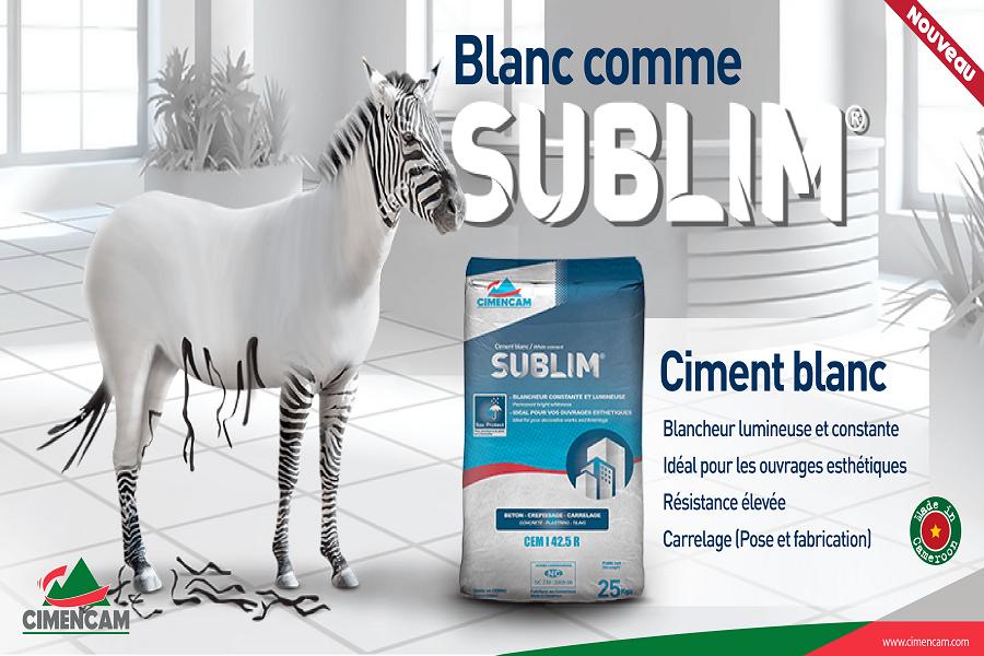 Cimencam lance « Sublim », le nouveau ciment blanc « made in Cameroon »