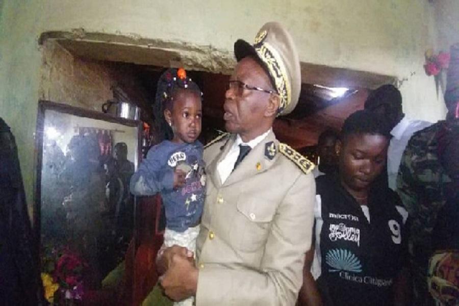 Assassinat d'Ayafor Florence : Le gouverneur Adolphe Lele Lafrique est allé réconforter les enfants de la victime