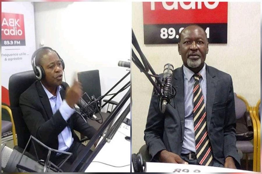 Sur ABK radio, André Lutter Meka arrache le micro de Célestin Djamen pour l'empêcher de dire « président élu »