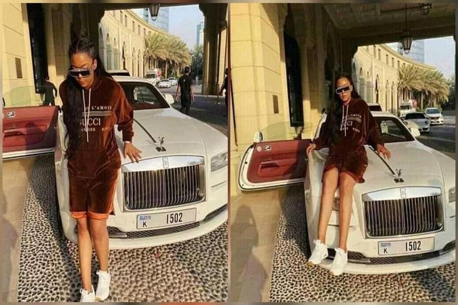 Ces photos de la fille du président Biya qui font le buzz sur la toile