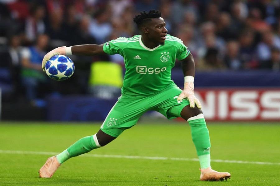 Football : le portier camerounais, Andre Onana sélectionné pour le titre de meilleur gardien de but