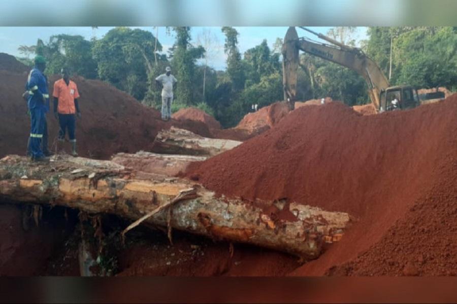 Cameroun : la circulation rétablie sur l'axe Sangmelima-Djoum après la division de la route